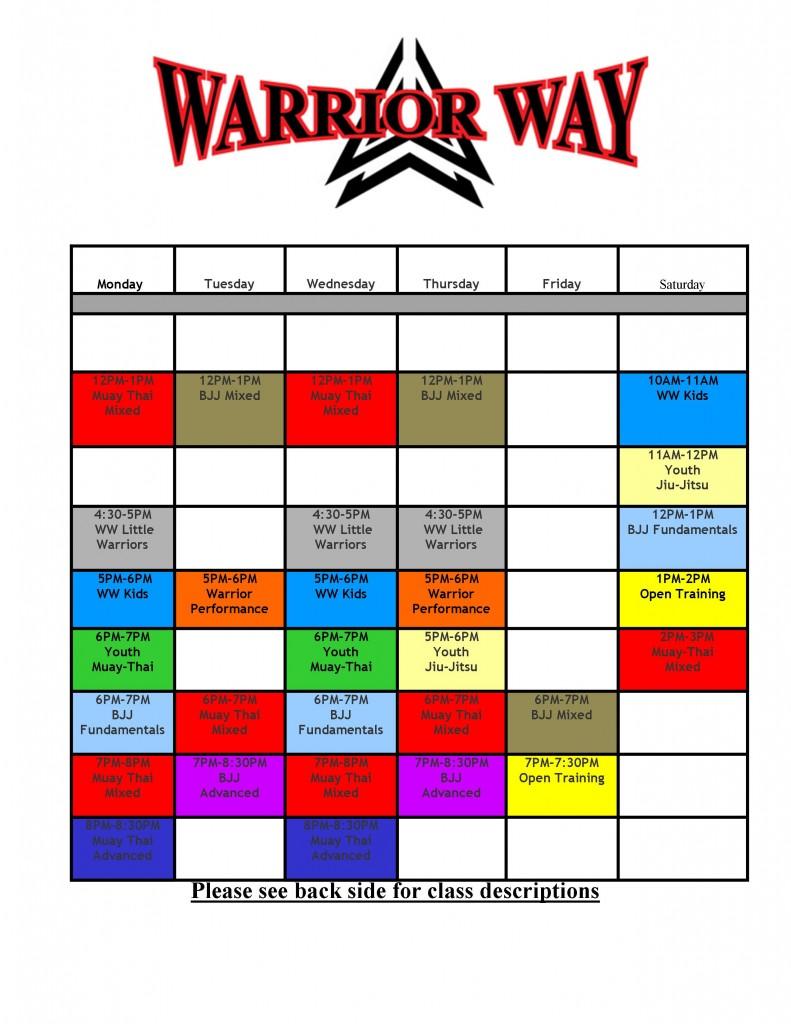 new schedule winter 2016